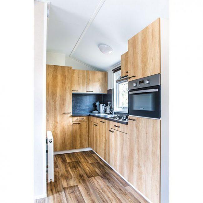 Chalet Luttikduin 18 keuken