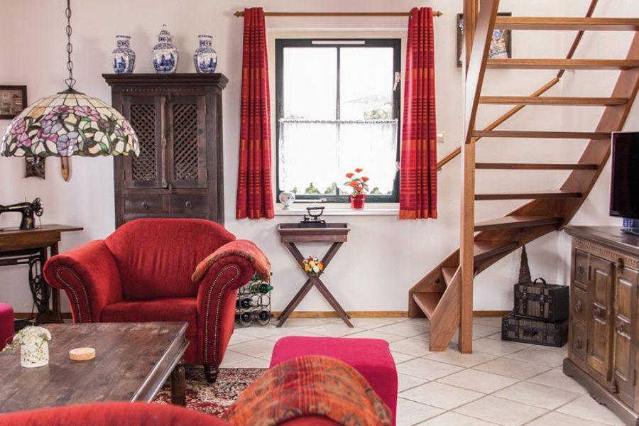 Villa Schaut woonkamer