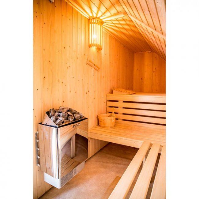 Villa Mooy sauna
