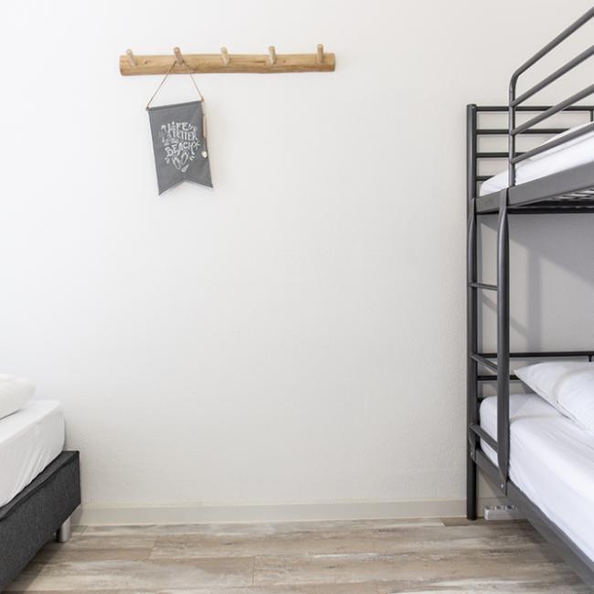 Strandjutter slaapkamer