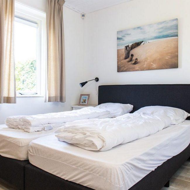 Villa Duynloper slaapkamer
