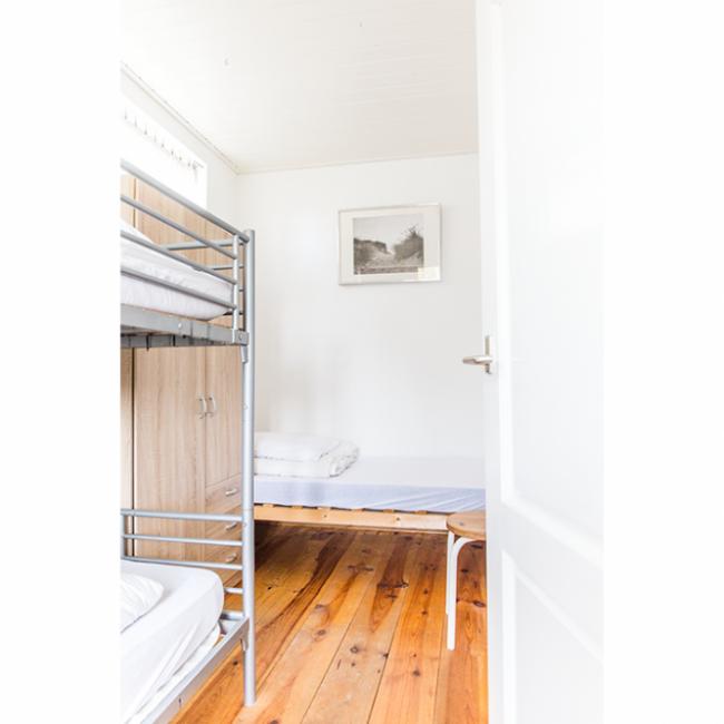 Strandgaper slaapkamer