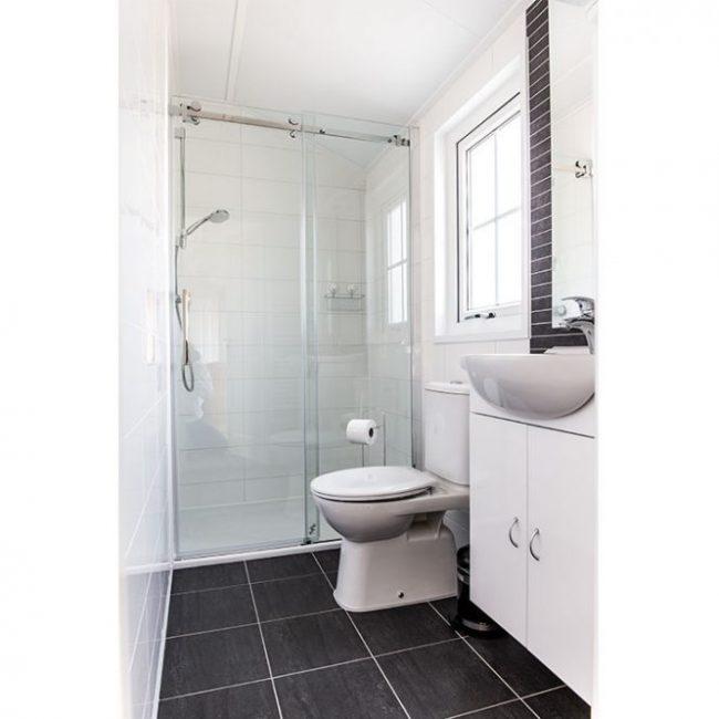 Chalet Luttikduin 18 badkamer