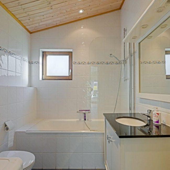 Zeebries badkamer
