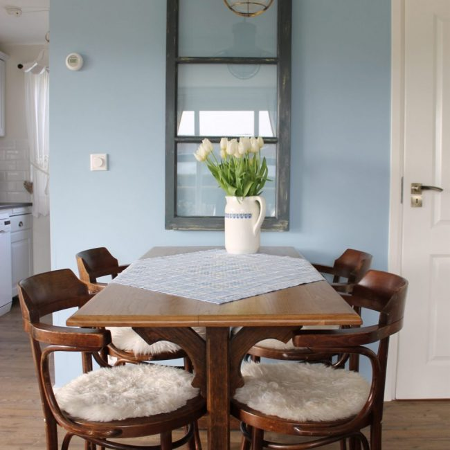 Blue Bay Cottage woonkamer