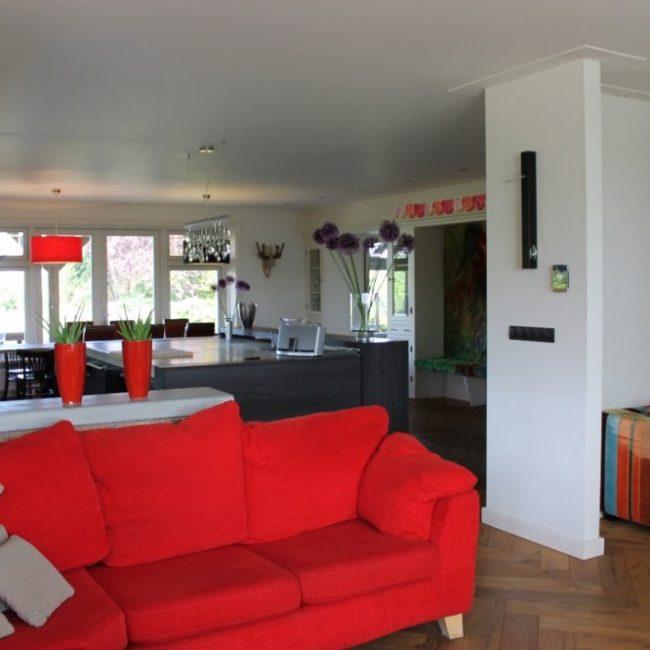 Villa Tulp woonkamer
