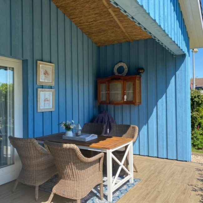 Blue Bay Cottage terras