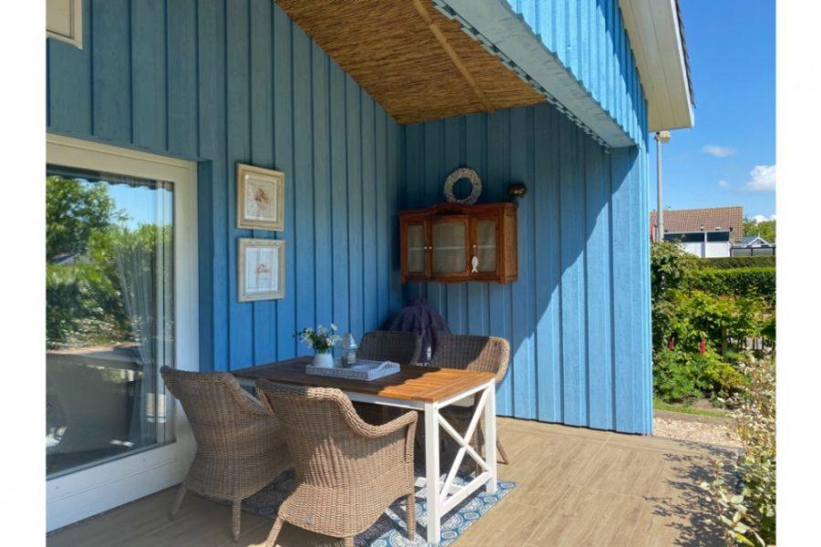 Blue Bay Cottage terras